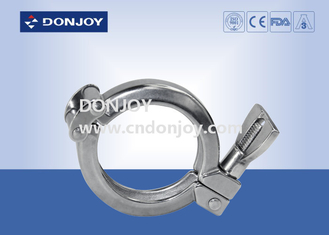 Sanitary Tri Clamp Union Single Pin Clamp SS304 SMS / DIN/3A CE Certificate
