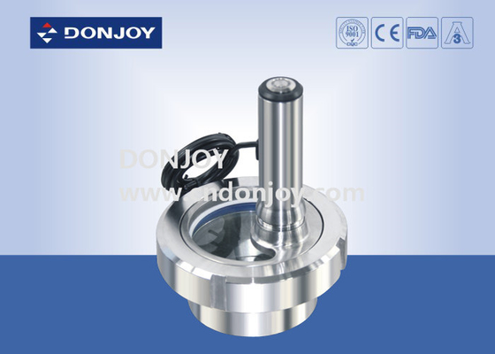 Union Sight Glass Stainless Steel Sanitary Fittings Union Sight Glass With Lamp
