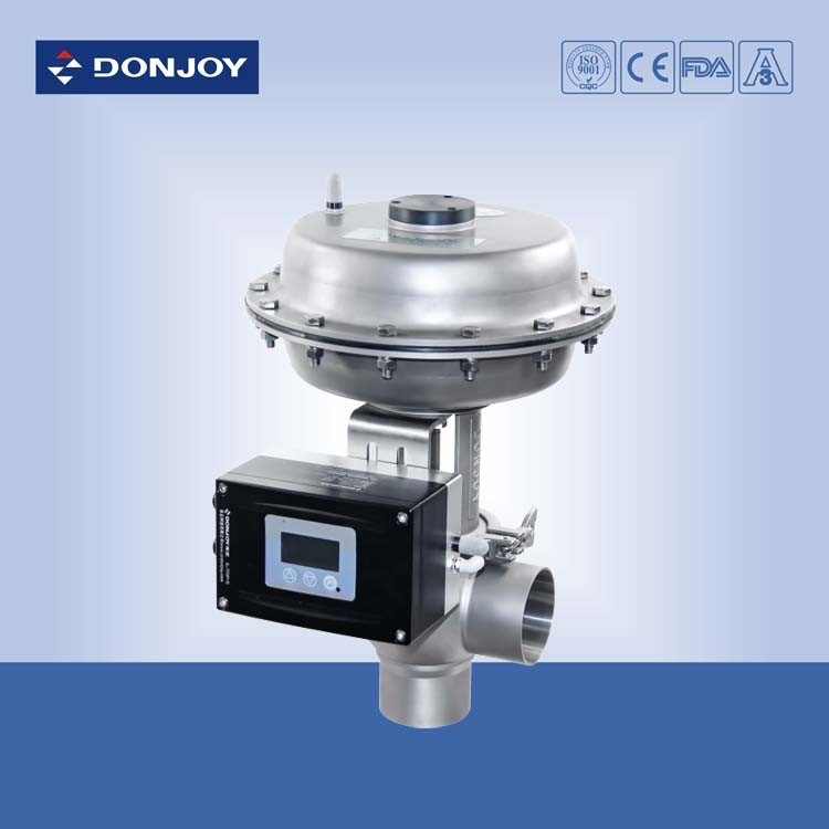 Pressure regulating valve with square positioner for regulating fluid ccuart Choice Image