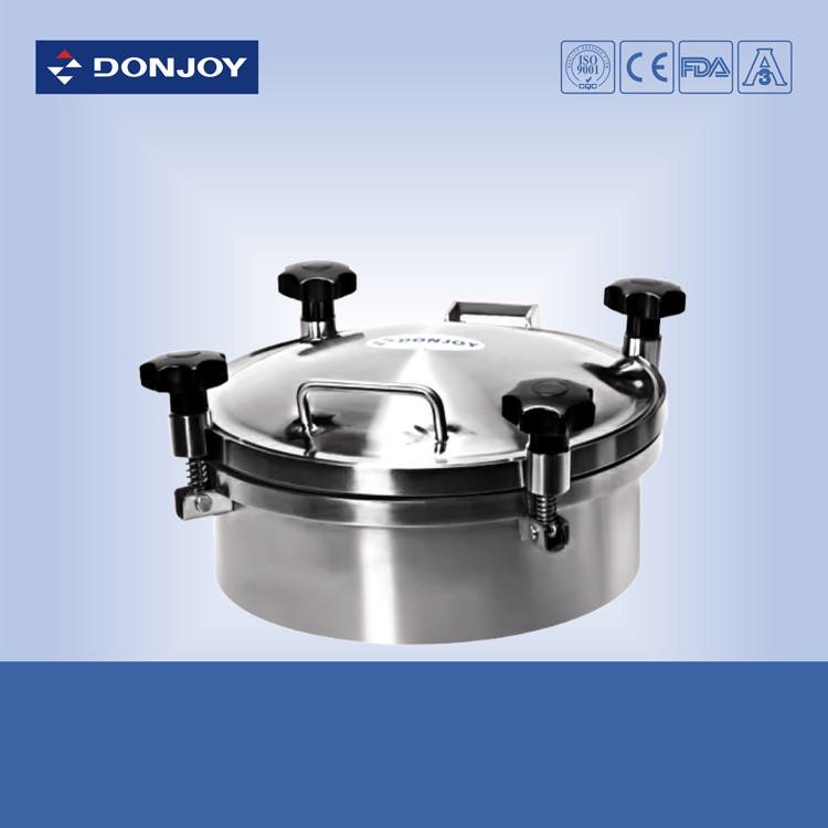 Donjoy mm round manhole cover with pressure welded to