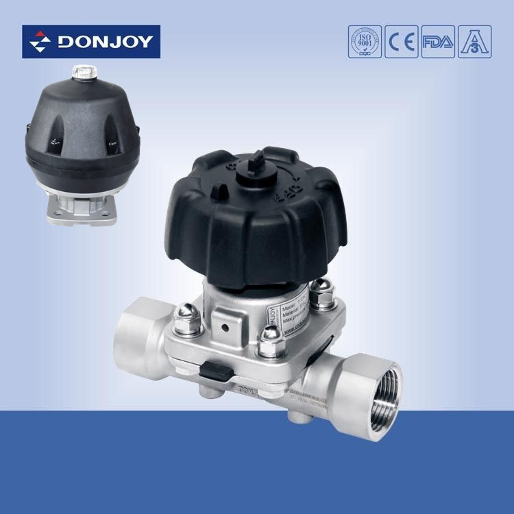 3inch stainless steel 316l manual female diaphragm valve bsp thread 3inch stainless steel 316l manual female diaphragm valve bsp thread full port valve ccuart Gallery