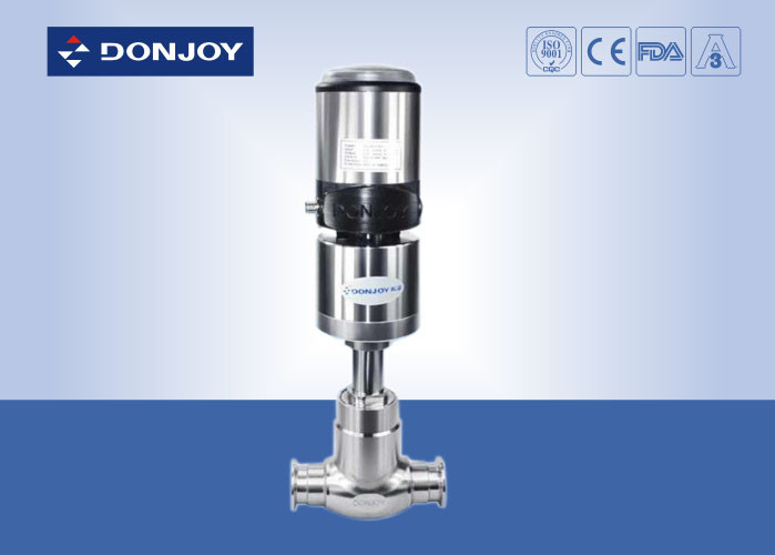 Stainless Steel Globe Valve With Valve Positioner Operation