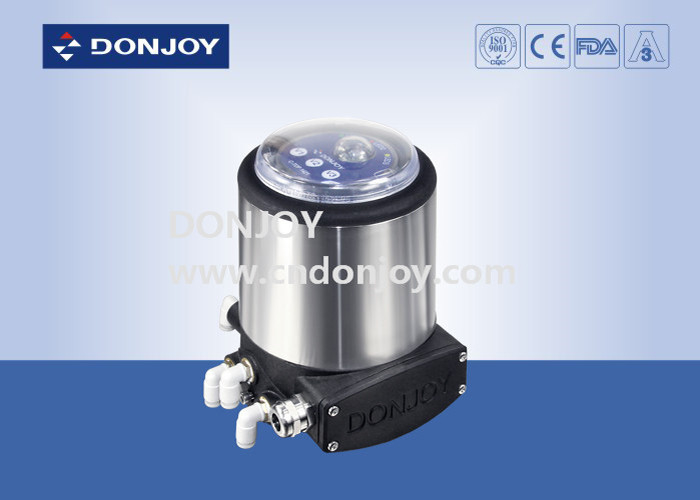 FDA Intelligent valve Positioner C-top , stainless steel butterfly