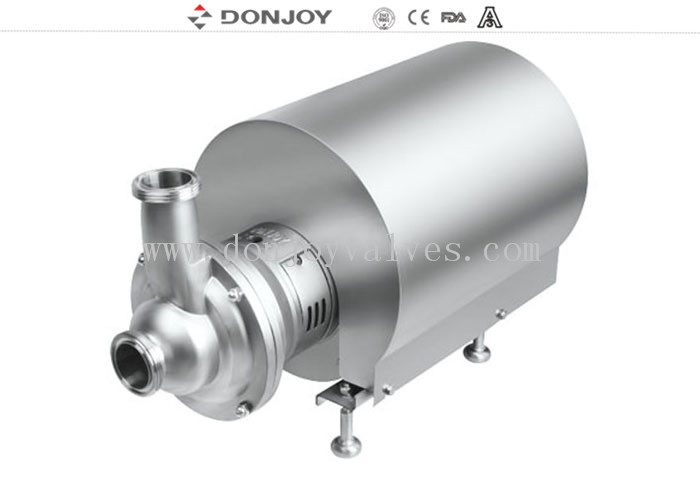 High Purity 11KW Self Priming Suction Pump For Tank Empting