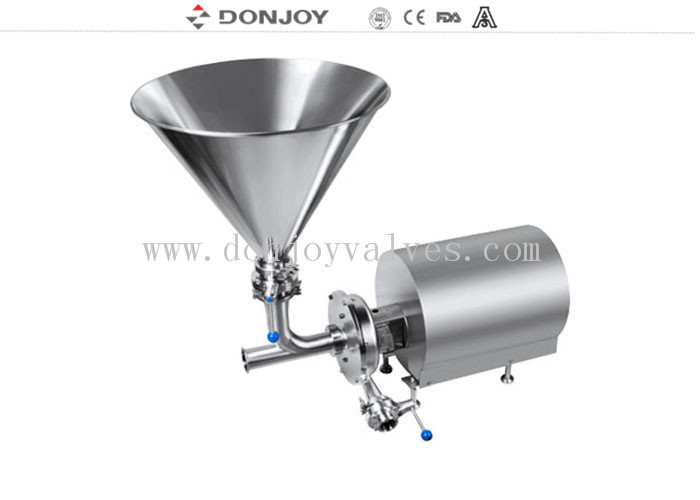 Emulsifying Homogeneous High Purity Pumps For Mixing The Cheese And Food