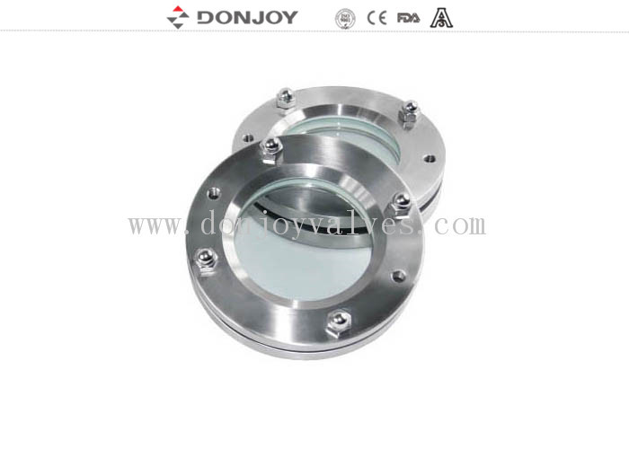 SS304 DN25-DN150  Stainless Steel Sight Glass for full angle observation