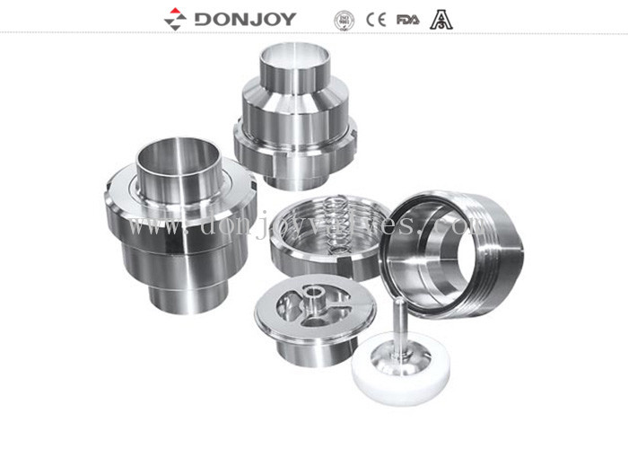 DN50 1.4301 Hydraulic Check Valves , Sanitary Check Valve For Hydraulic System