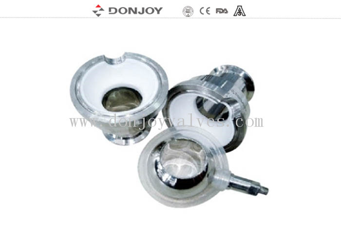 SS304, DN32 Clamped non-retention valve,ISO,SMS BPE Welded Connnection
