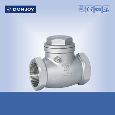 SS304 /SS316L ,Stinaless steel  BSP Female thread swing Check valve,