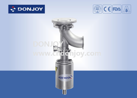 Professional Industrial Flush Tank Bottom Valve CE FDA Certification