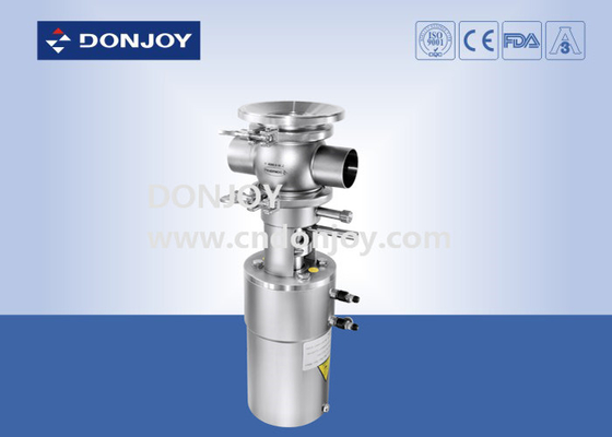 Mixing-proof Tank Bottom Valve for preventing two medium from mixing