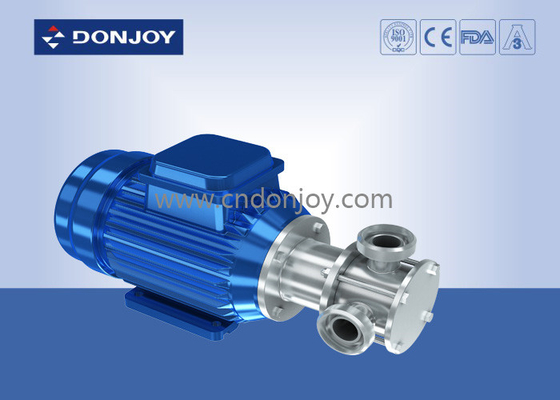 RX Flexibility Impeller High Purity Pumps Achieve Clockwise And Counterclockwise Rotation