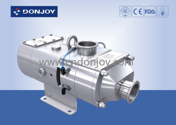 316L Sanitary Screw High Pressure Pumps Electric Operated Apply For CIP / SIP Systems