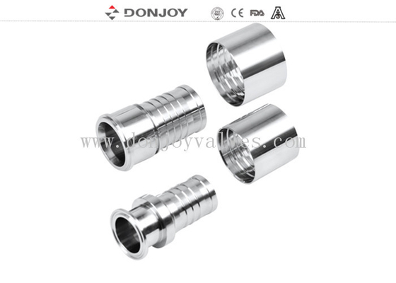 male connector Stainless Steel Sanitary Fittings Clamp Adaptor or connectors