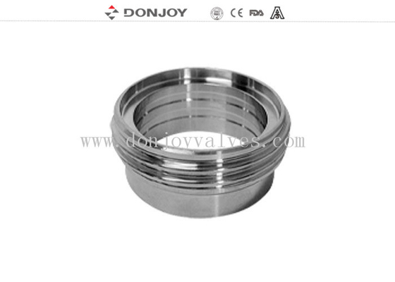Sanitary SUS 304 316L Stainless Steel Sanitary Fittings Male Union Liner RJT Hex Nut