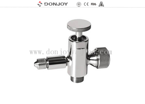 "Donjoy Valves 1/4"" / 1/2"" Thread Connection AISI304 / AISI316L"