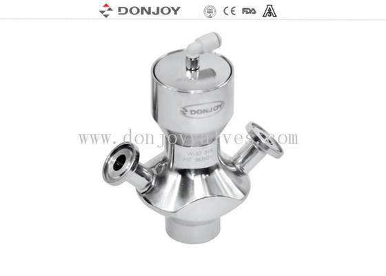 Pneumtic Sanitary Aspetic Sampling Valve with Clamp Connection