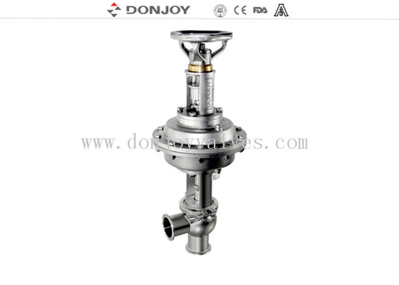1'' - 4'' diaphragm Reversing Seat Valve with pneumatic and manual integrated